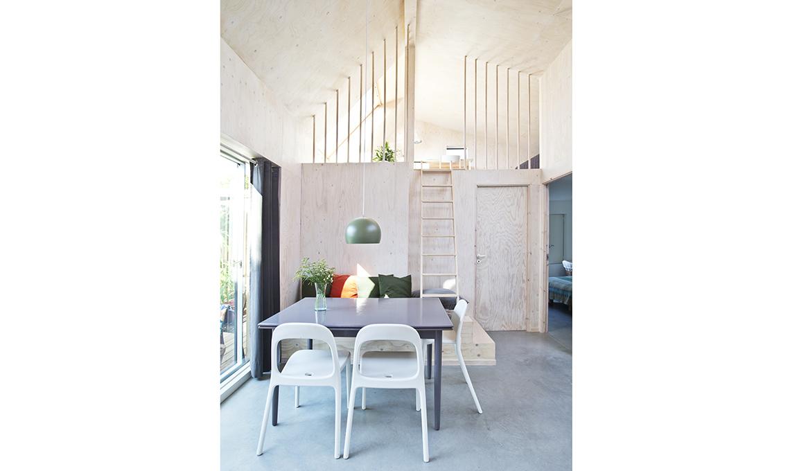 zona pranzo legno