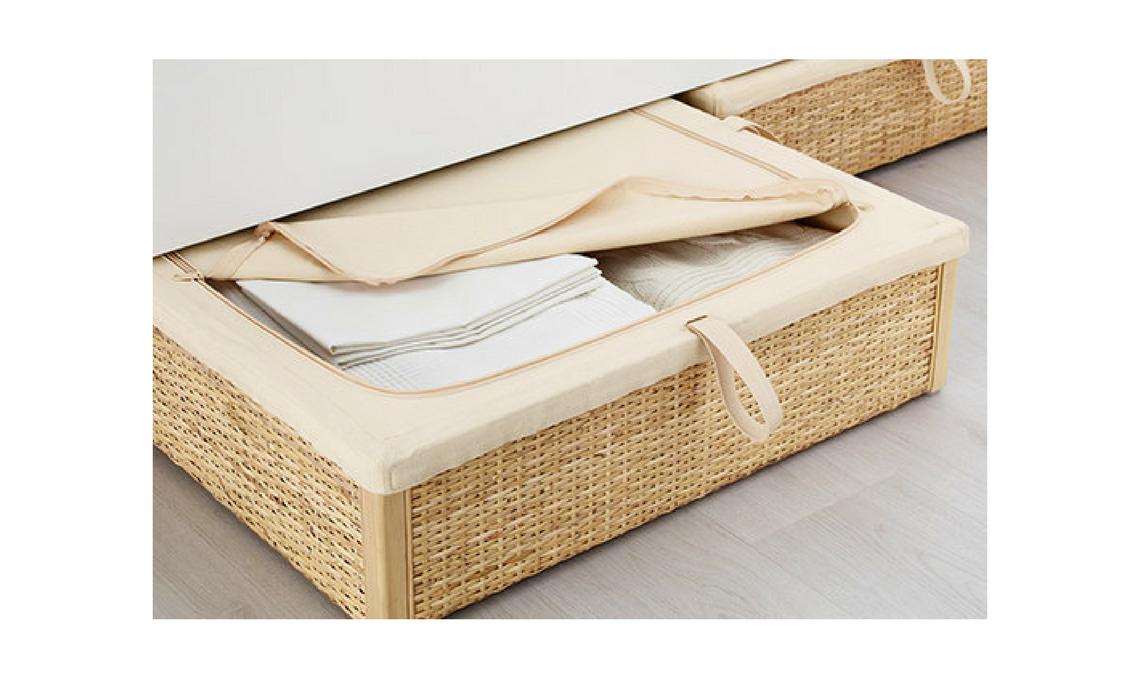 5 idee per organizzare lo spazio sotto il letto casafacile - Letto contenitore fai da te ...