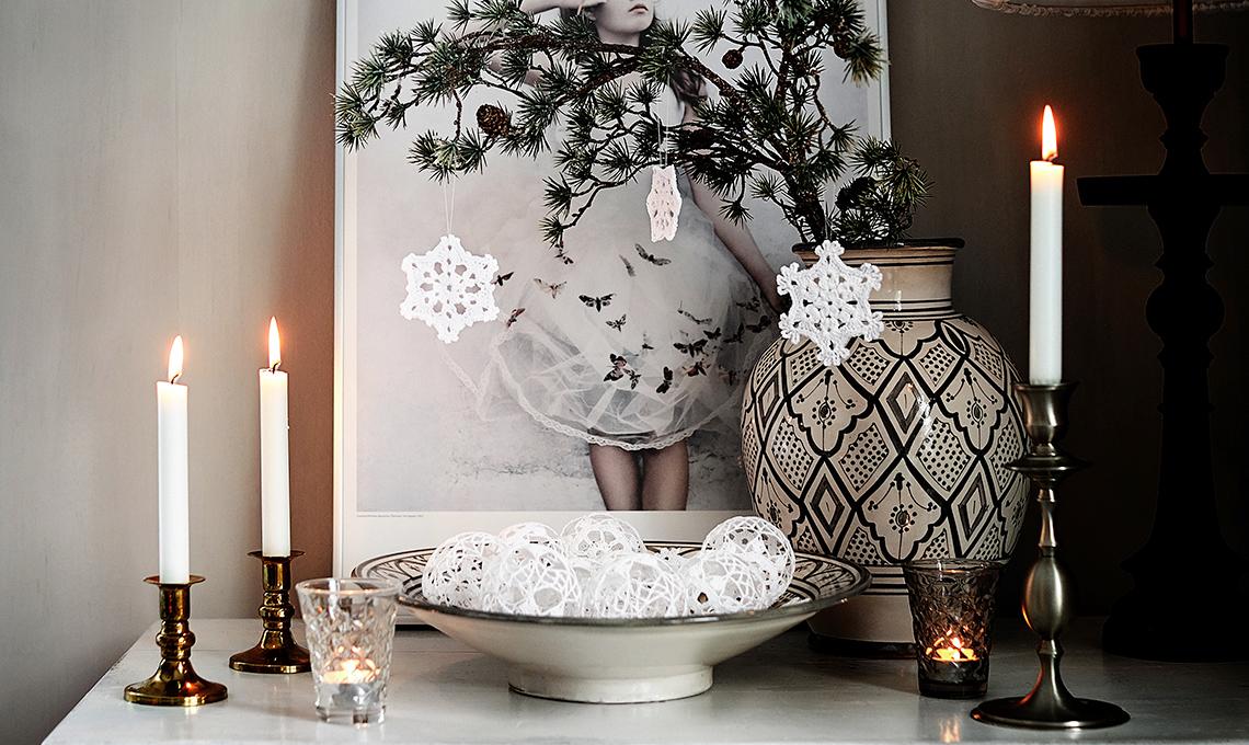 Decorazioni Di Natale Crochet Palline Alluncinetto Casafacile