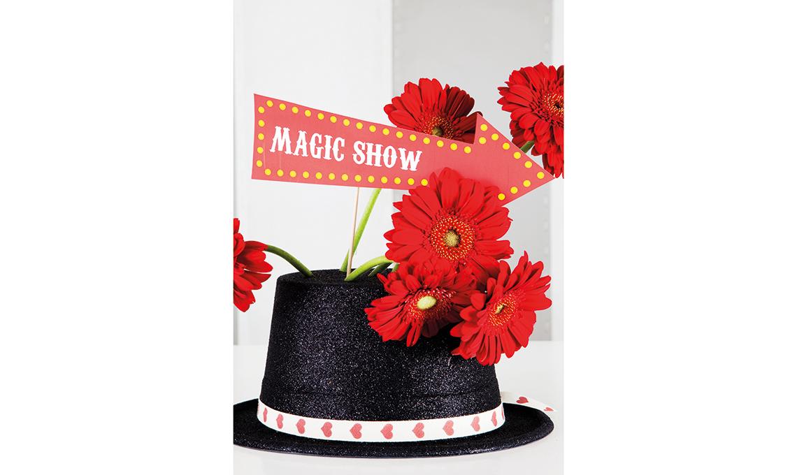 festa di compleanno a tema magia