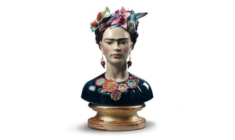 Omaggio a Frida Kahlo… in porcellana