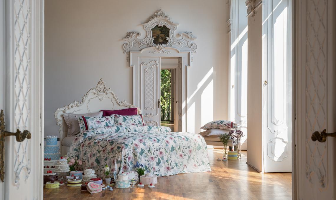Fantasie floreali per la collezione twinset casa casafacile - Fiera biancheria per la casa ...