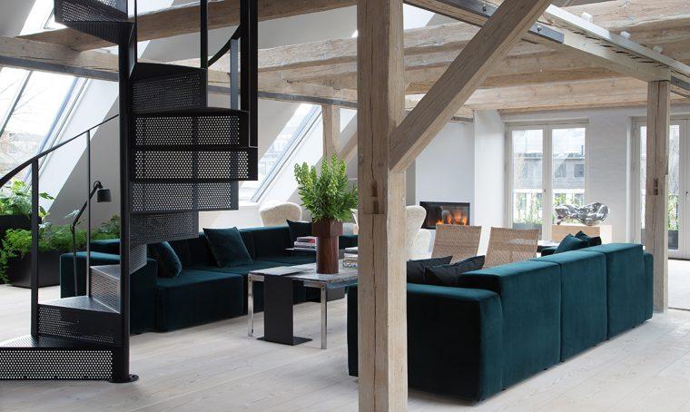 Una casa speciale diventa hotel a Copenhagen