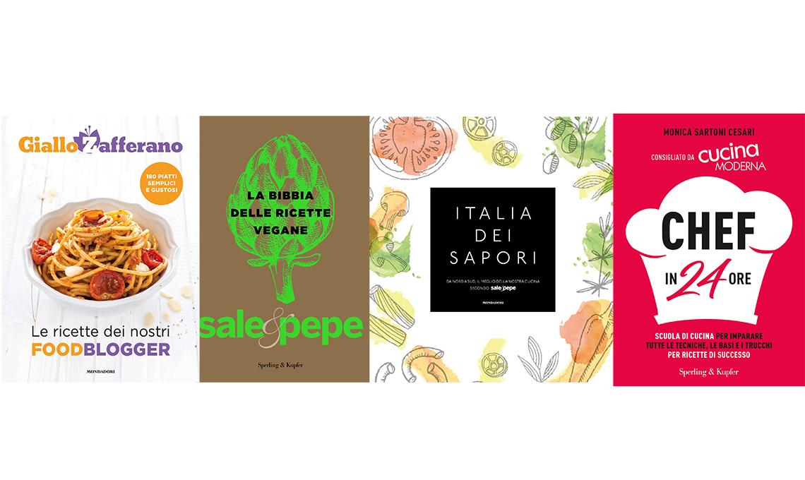 Libri di ricette 4 novit dalla redazione di sale pepe e cucina moderna casafacile - Sale e pepe scuola di cucina ...