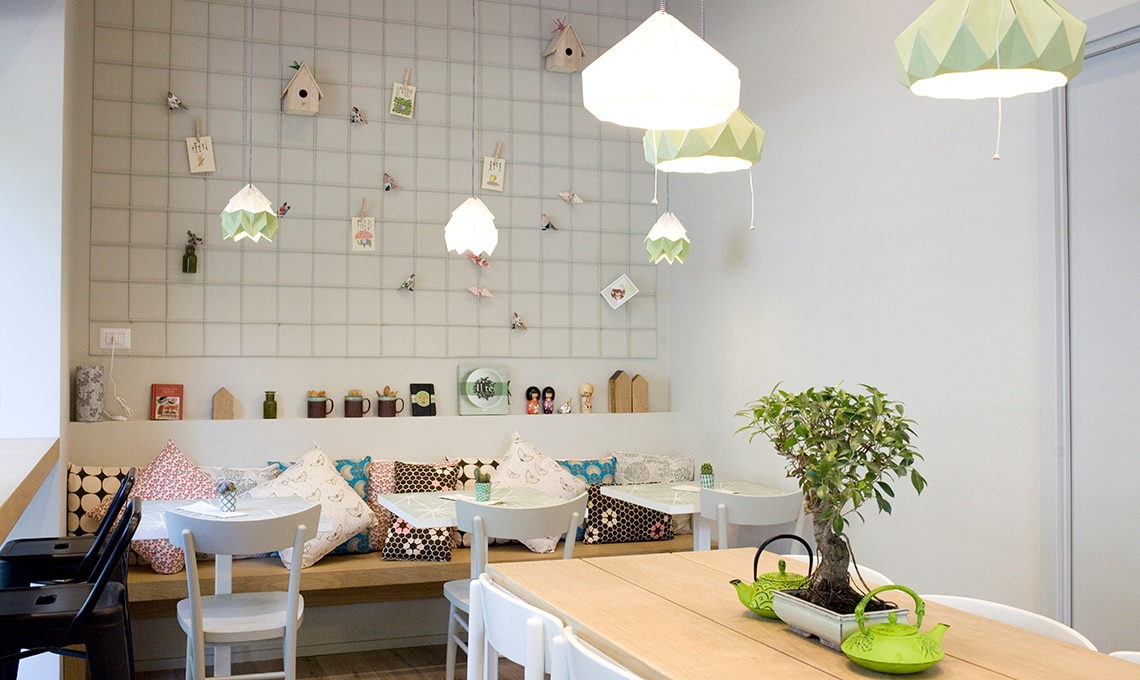 Macha Japanese café a Milano