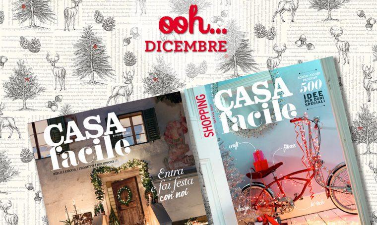 CasaFacile: il numero di dicembre 2017