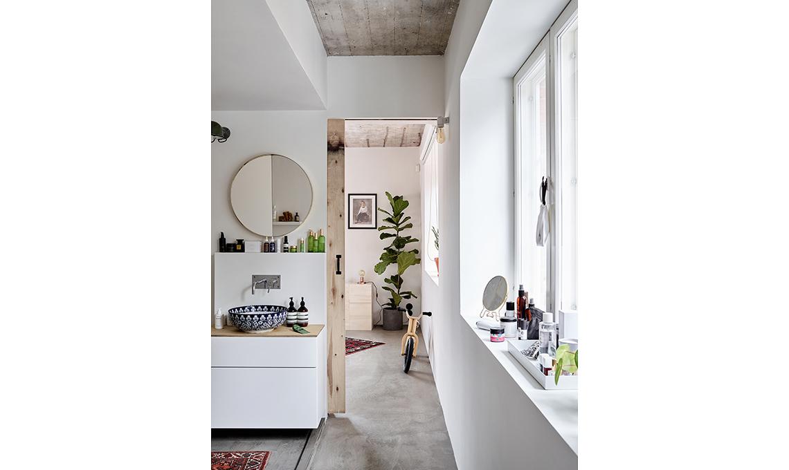 bagno pavimento cemento