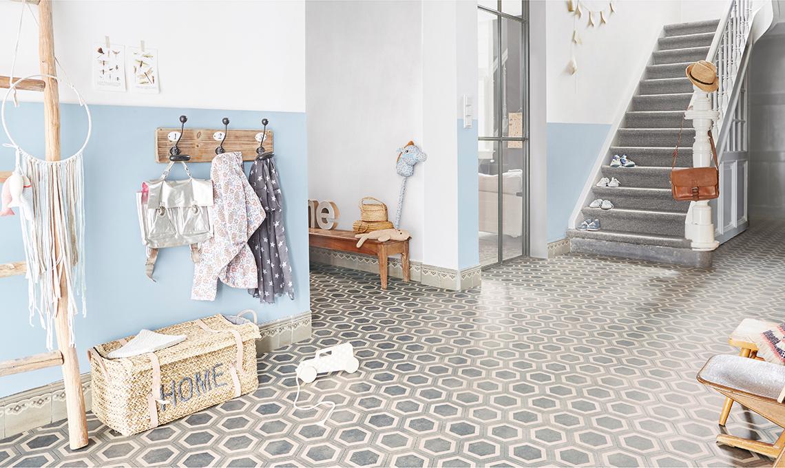 Rivestimenti vinilici effetto cementine casafacile