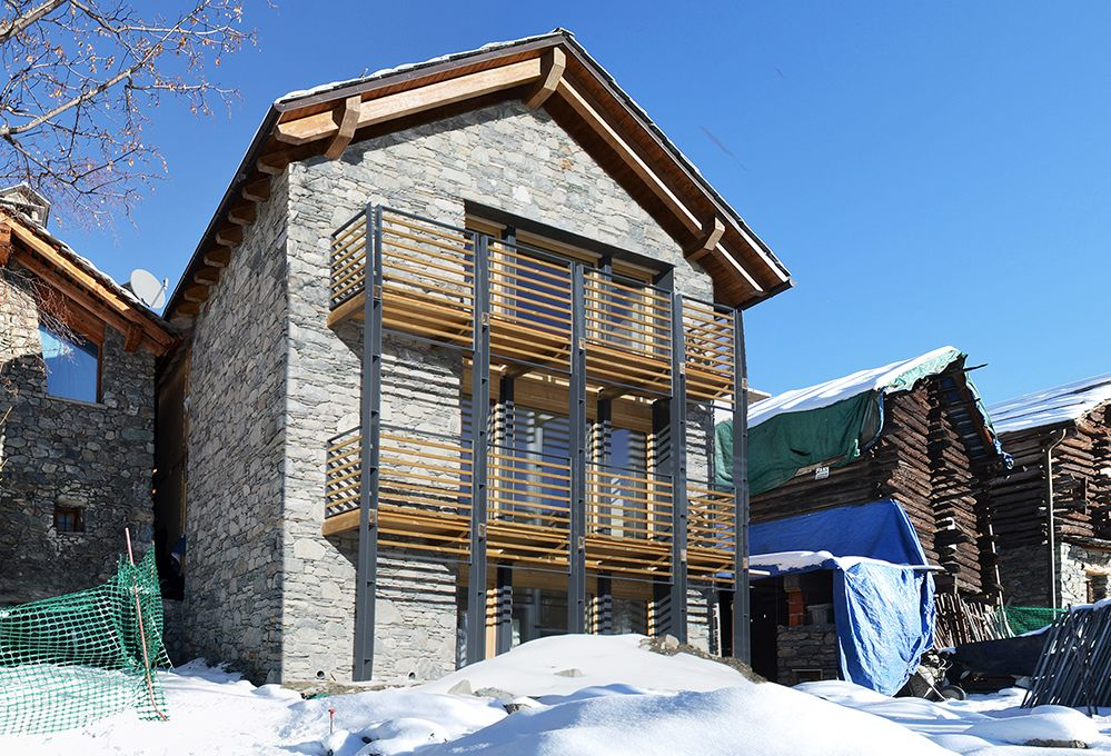 Come costruire una casa ecologica senza riscaldamento