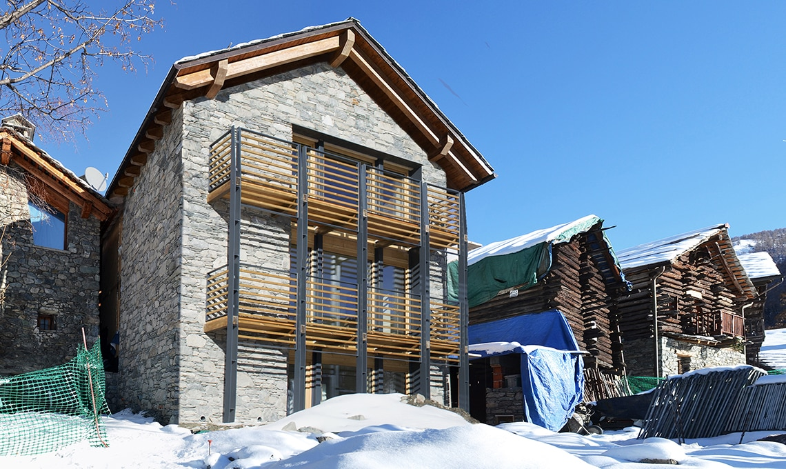 Come costruire una casa ecologica senza riscaldamento for Costruire case