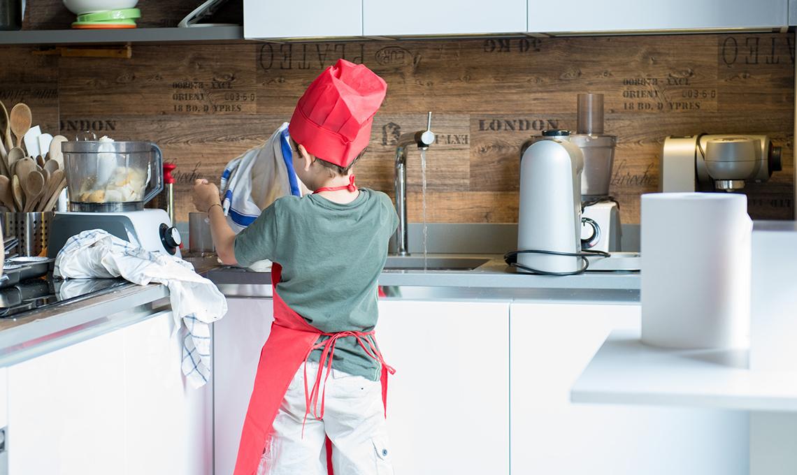 I corsi di cucina per bambini da cucina in casafacile