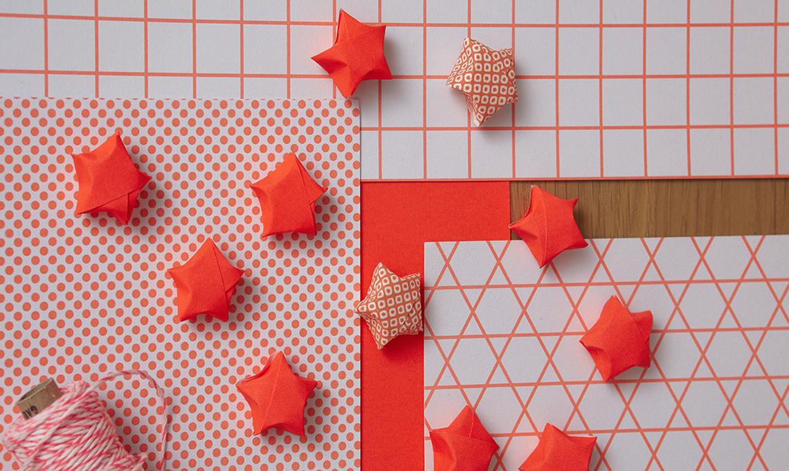 stelle in carta 3D