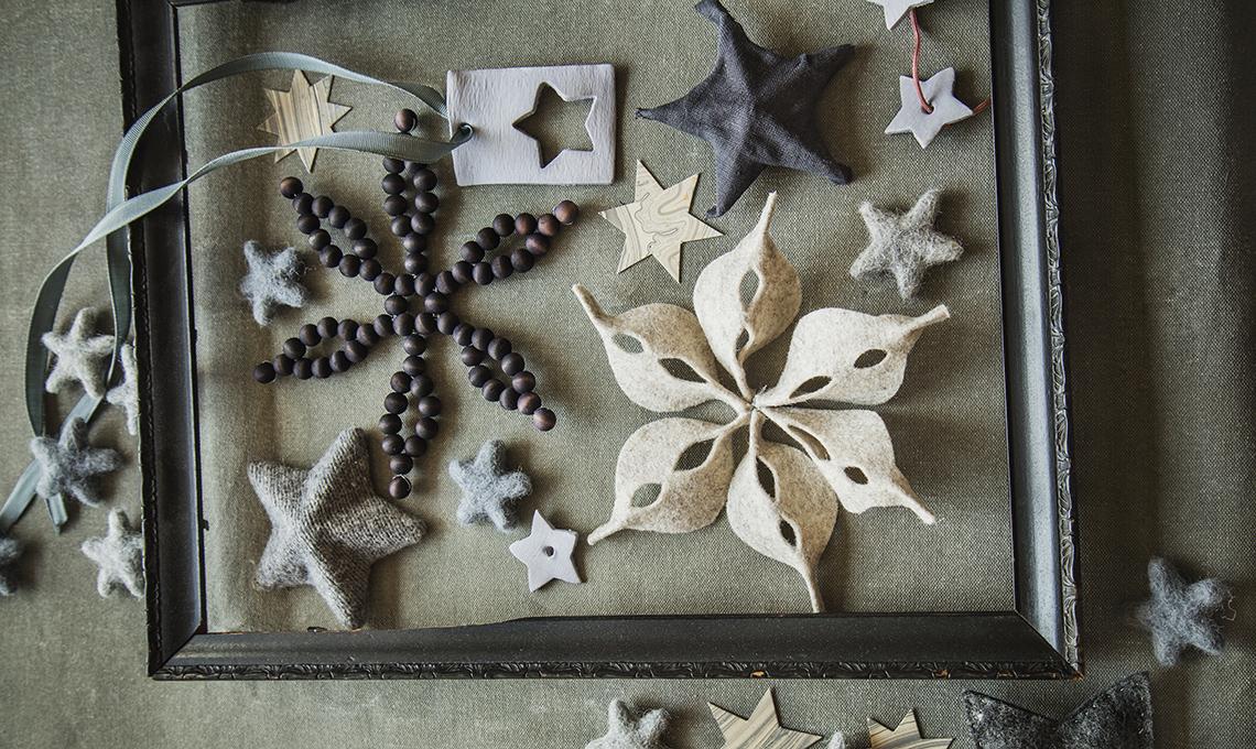 stelle in feltro