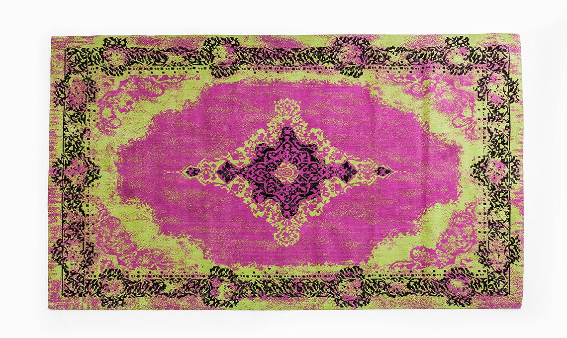 tappeto persiano colorato