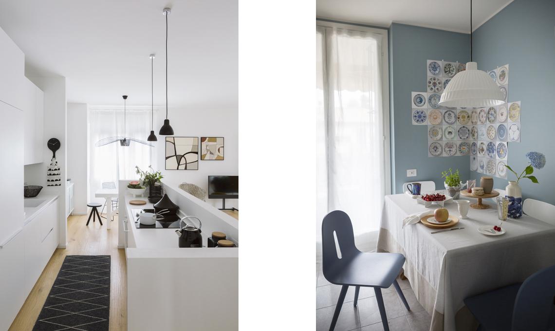 Tende particolari per cucina 5 idee originali casafacile - Idee tende da cucina ...