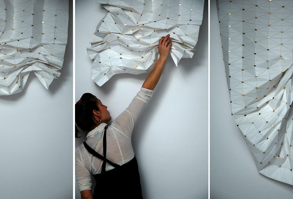 Esempio di struttura di tessuti per tende u foto stock ksena