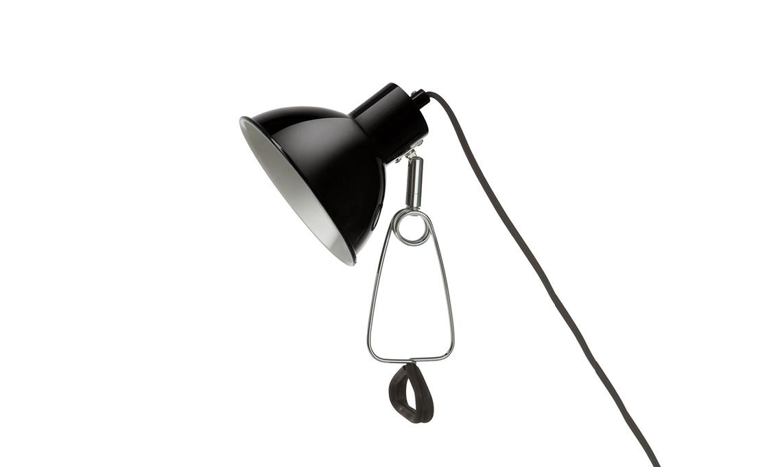 lampada a pinza