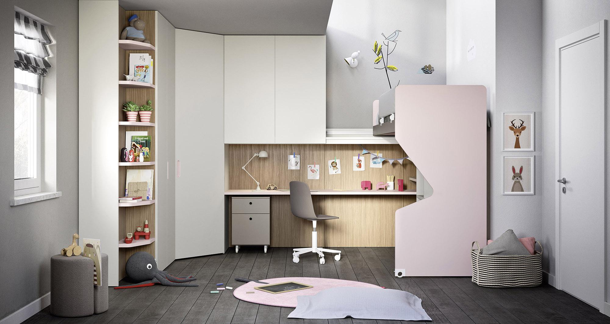 Tutto scorre il letto e il soppalco per organizzare lo spazio casafacile - Letto a soppalco scorrevole ...