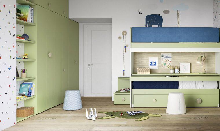 Giocare con gli spazi: il letto Skid di Nidi