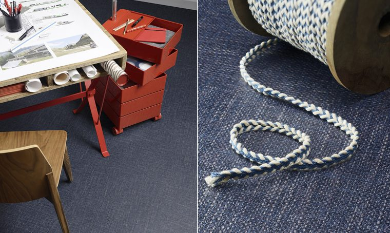 Il pavimento in pvc… effetto jeans!