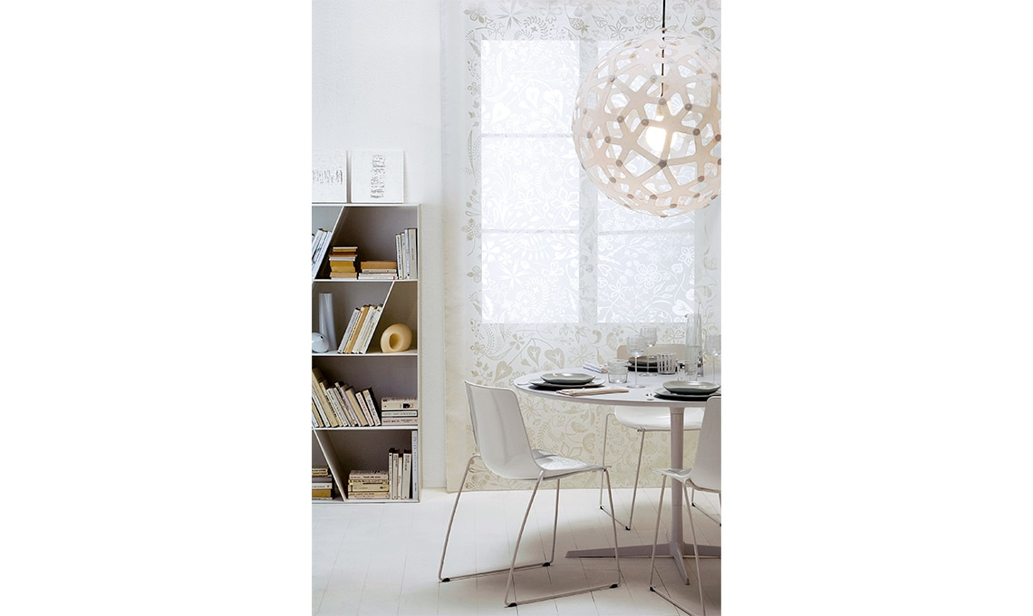 Tende eleganti per soggiorno 24 idee chic casafacile for Ganci tende leroy merlin