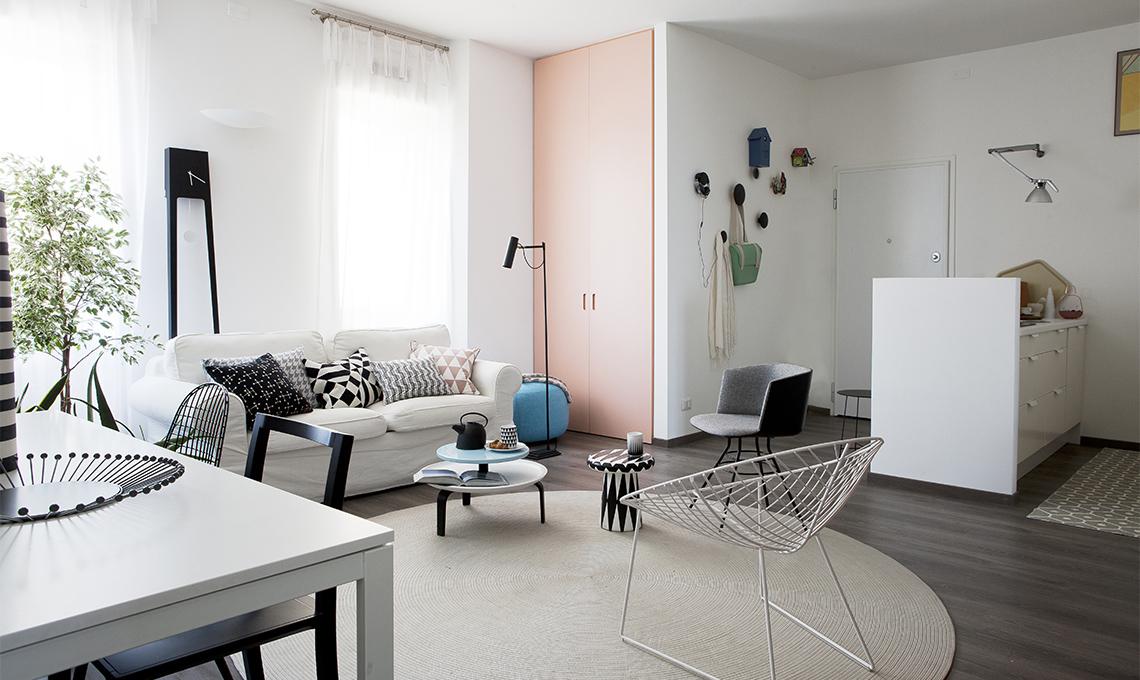 Tende eleganti per soggiorno trendy tende soggiorno photo for Tende lilla glicine