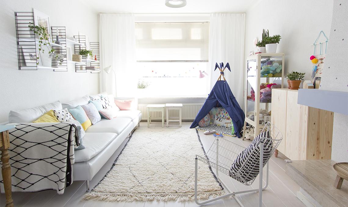 Tende Soggiorno Bianche : Tende eleganti per soggiorno idee chic casafacile