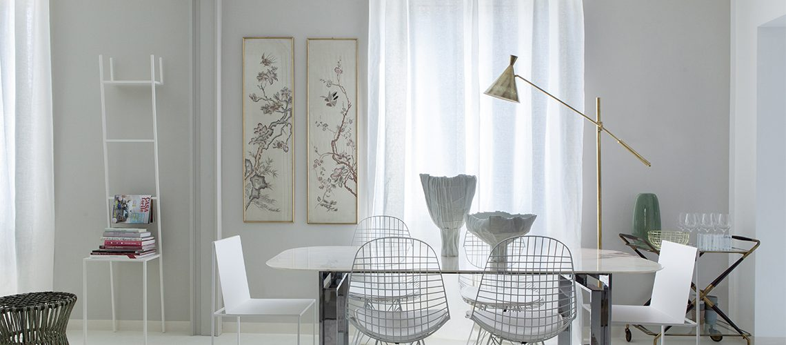 Idee per arredare casa fai da te perfect come arredare for Tende eleganti per soggiorno