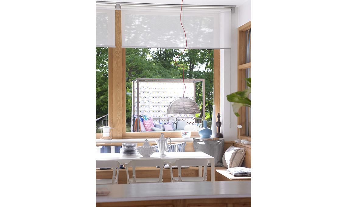 Tende eleganti per soggiorno 24 idee chic casafacile for Soggiorno elegante