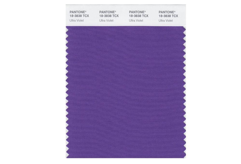 Il colore Pantone 2018 è Ultra Violet