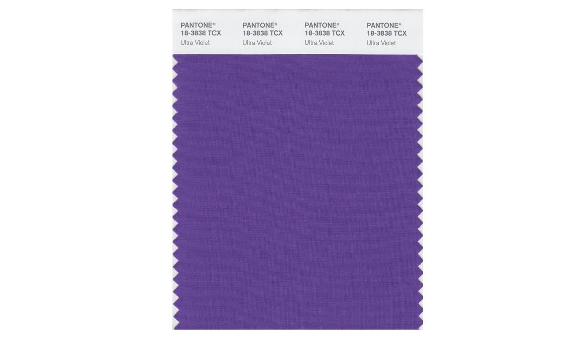 colore viola Pantone 2018