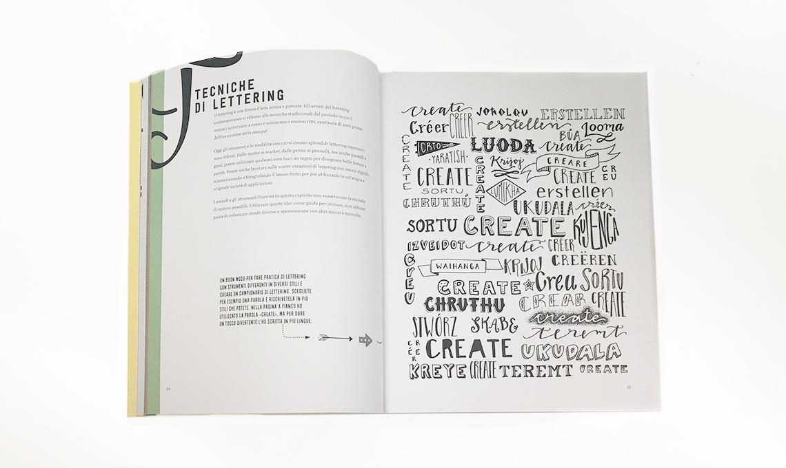 CasaFacile libro decorare con il lettering