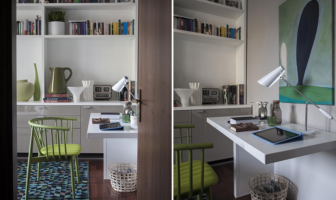 Ingresso Soggiorno Arredare : Idee per l angolo studio casafacile