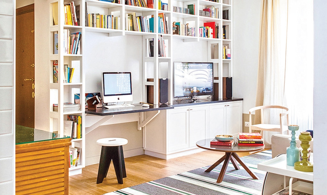 10 idee per l 39 angolo studio casafacile for Idee per arredare un ufficio