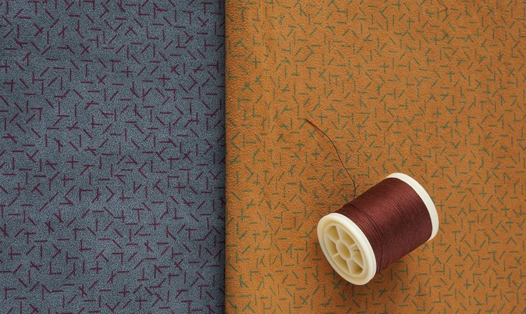 I pattern di Inga Sempé vestono la nuova collezione Alcantara