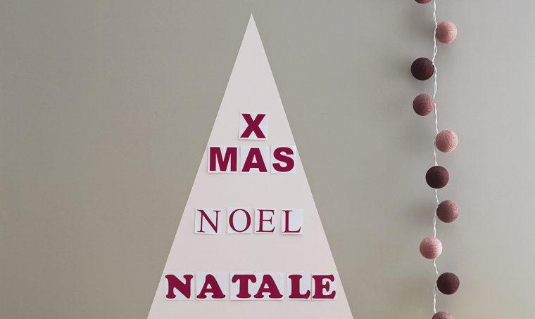 3 idee last minute per creare un albero di Natale fai da te