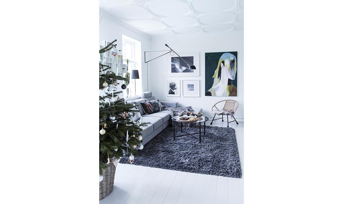 pavimento bianco stile nordico