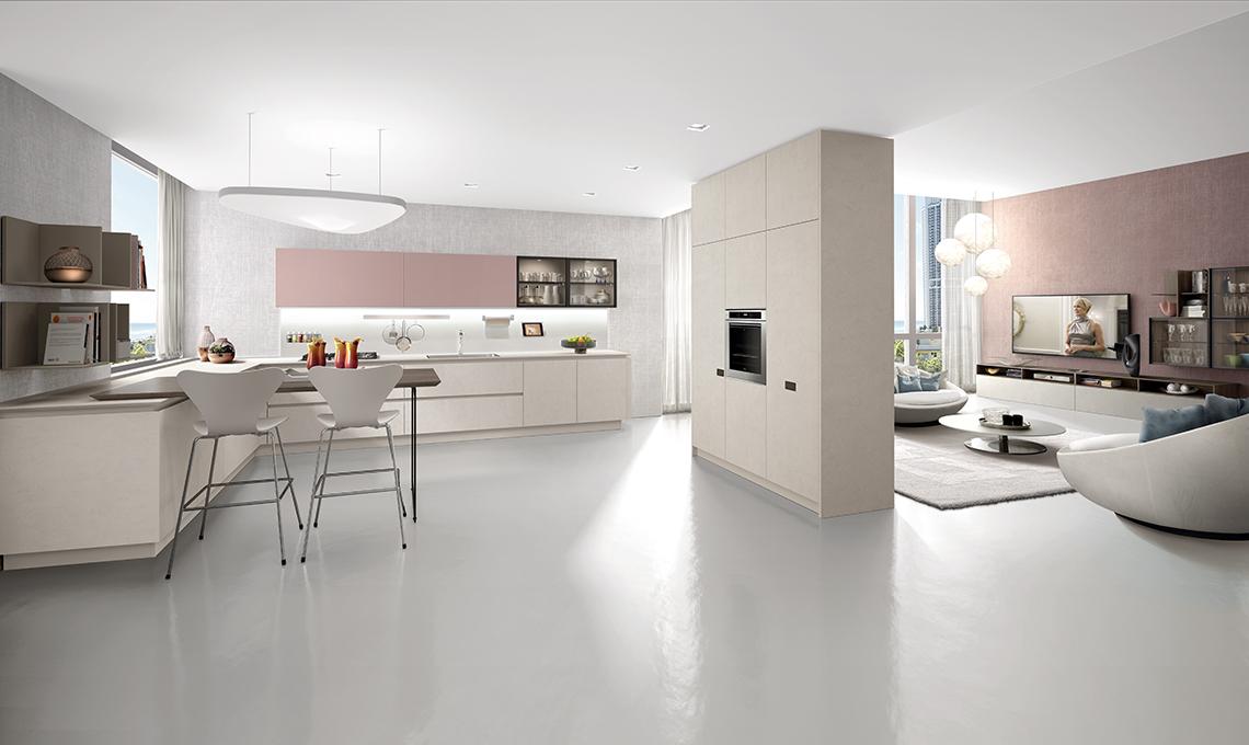 Dividere cucina e soggiorno con mobili a colonna - CasaFacile