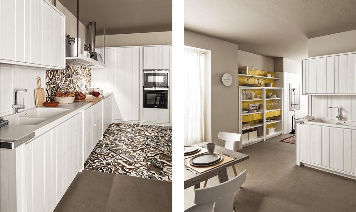 Aumenta lo spazio con la quinta che divide cucina e living casafacile