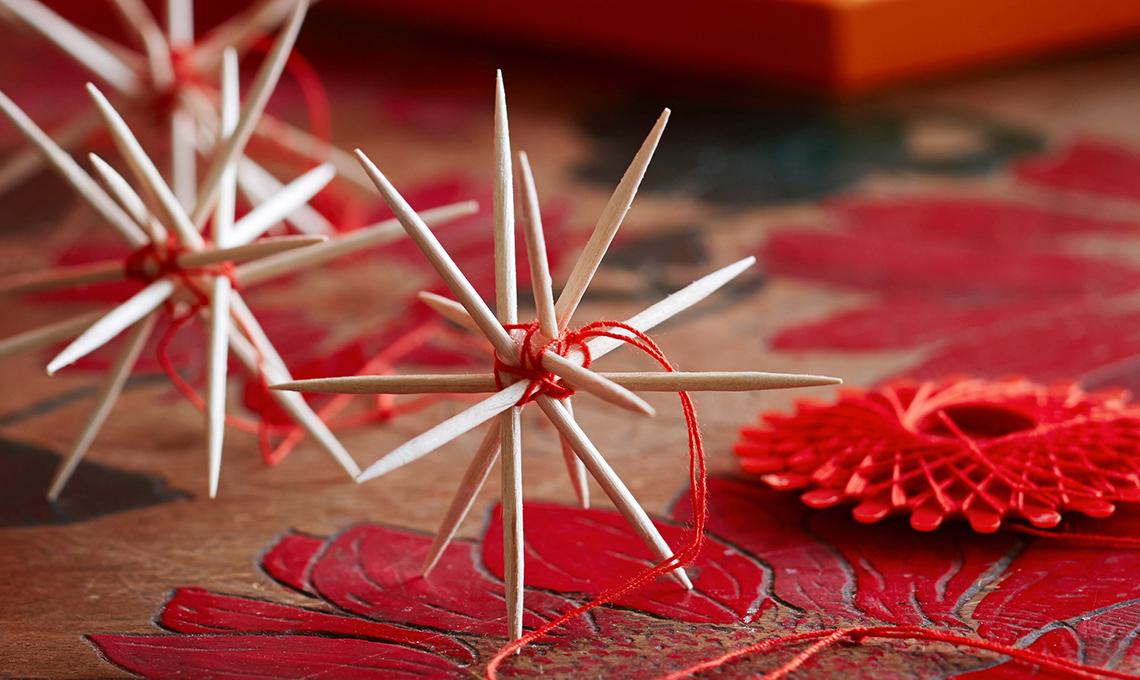 addobbi per l'albero di Natale last minute