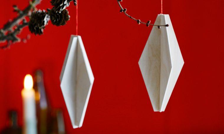 Decorazioni di Natale fai-da-te in legno
