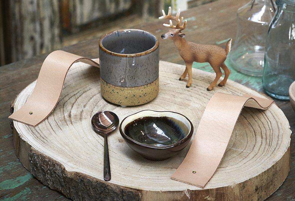 6 fai-da-te con il cuoio per decorare la tavola