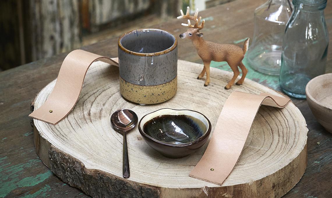 6 fai da te con il cuoio per decorare la tavola casafacile for Decorare la stanza fai da te