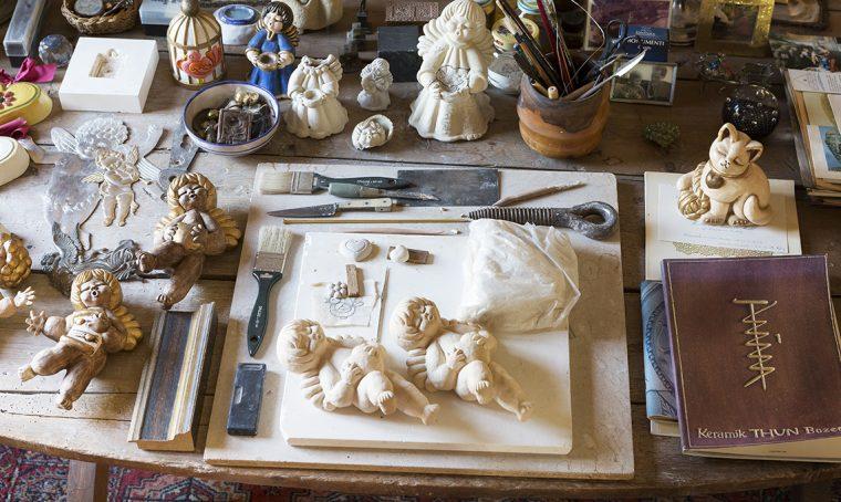La storia delle creazioni Thun e della contessa che lavorava l'argilla