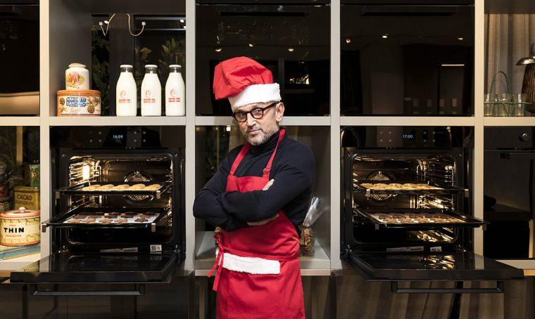 Il negozio Franke di Milano diventa temporary cookies factory