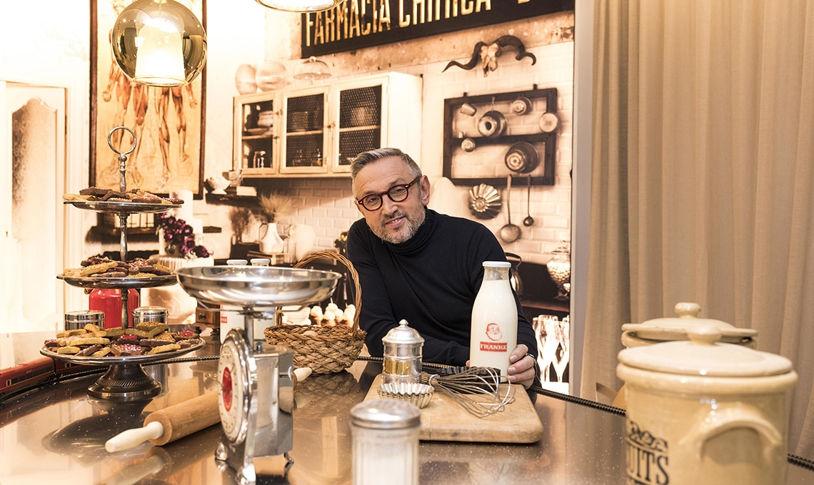 il negozio Franke diventa fabbrica di biscotti