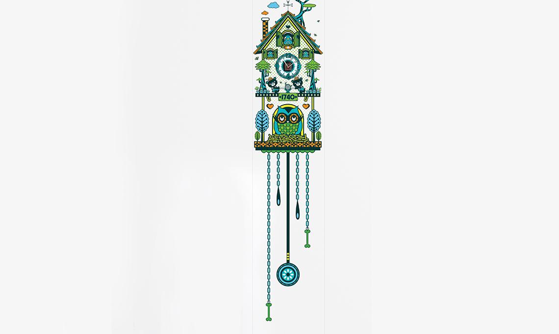 orologio a cucù