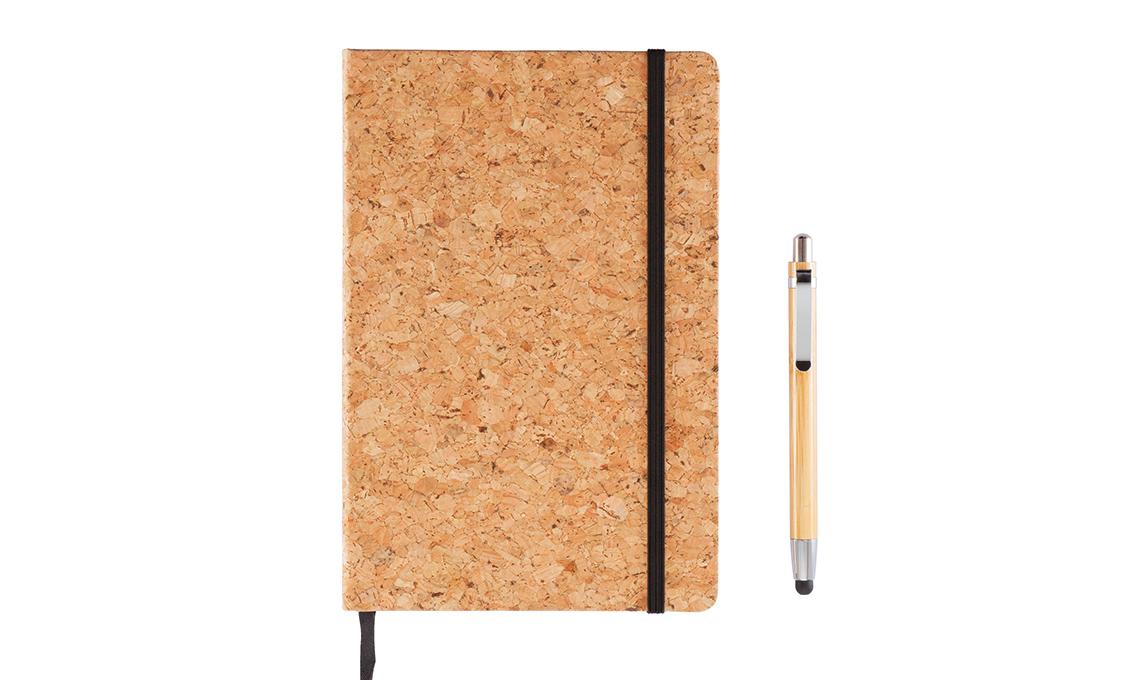 quaderno in sughero
