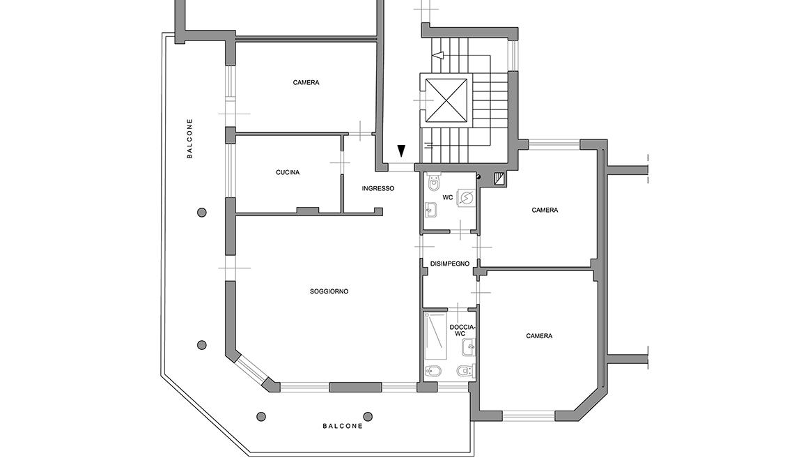 ristrutturazione casa a Merano