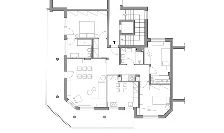 Ristrutturare: una casa di 4 locali in stile nordico